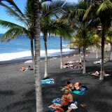 Warm All Year Round Coastal Temperaturers at Puerto Naos, La Palma