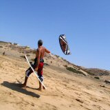 Kite Surfing at El Cotillo, Fuerteventura - the Windy Canary Island