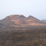 Mountains of Fire, view from Islote de Hilario, Timanfaya, Lanzarote