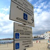 Los Cristianos Has Accessible Beaches, Restaurants and Level Prom!