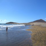 All Year Round Sunshine and High Temperatures. El Medano, Tenerife